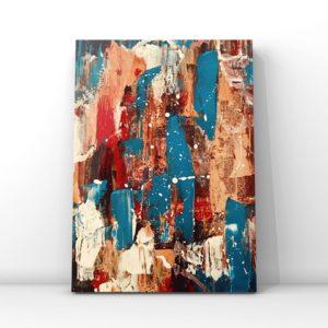 M E X I Q U E : format 30x40cm, peinture acrylique sur toile. Disponible à la vente : 35€